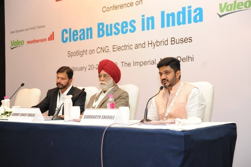 conference on Clean Buses in India organised in Delh