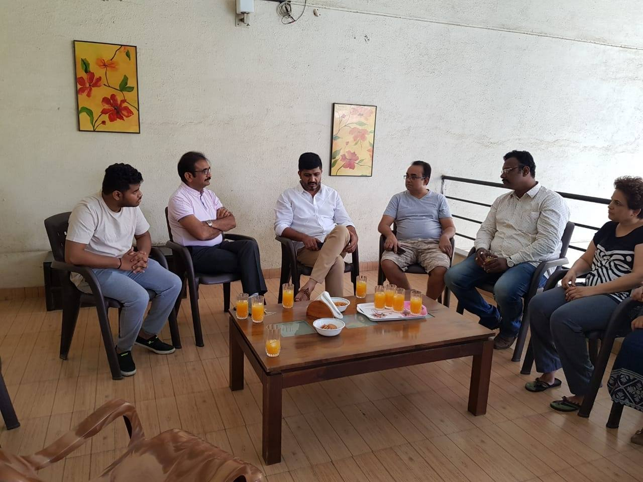 CITIZEN CONNECT- with residents of Bhosale Mystica and Ameet Apartments