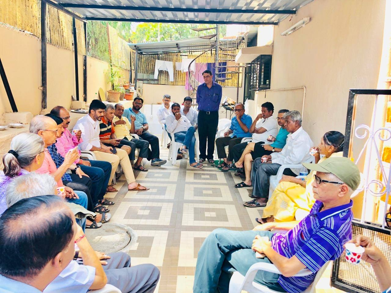 CITIZEN CONNECT- with residents of Hanuman Nagar