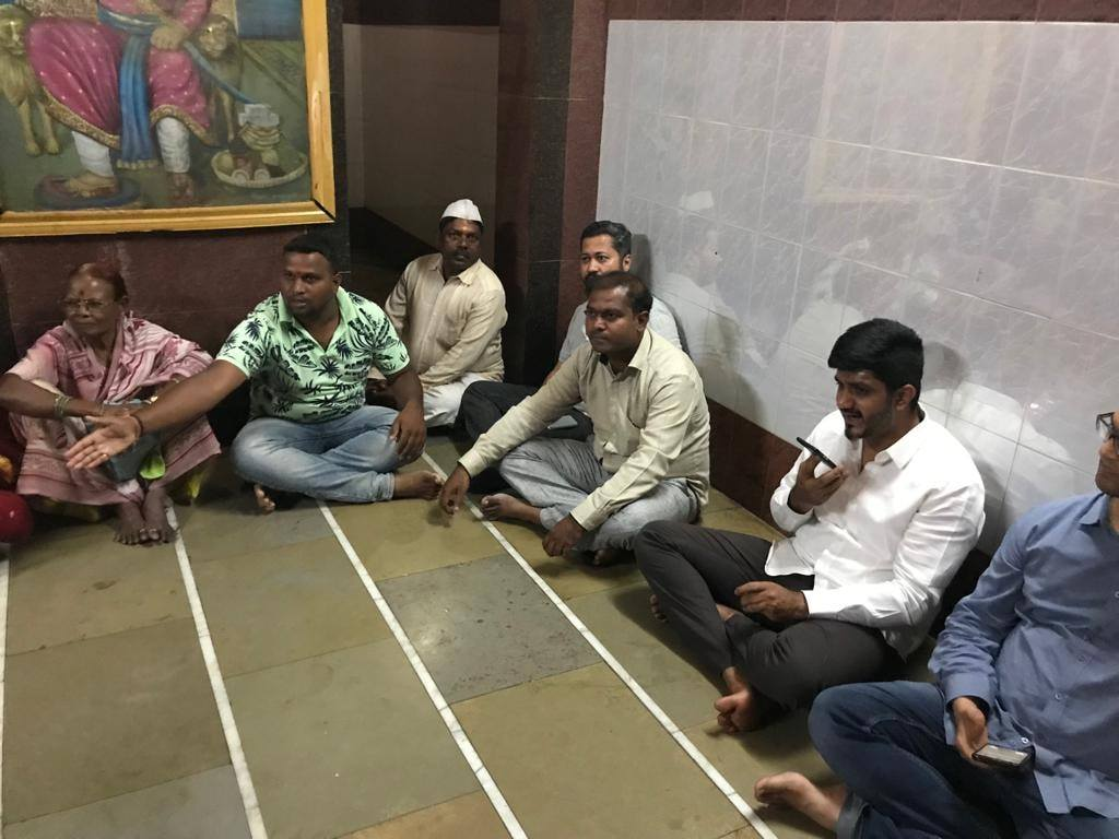 CITIZEN CONNECT- with residents of Wadarwadi