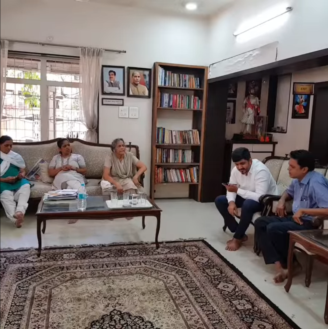 CITIZEN CONNECT- with the residents of Prabhat Road